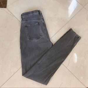 Uniqlo Grey Wash Stretch Jeggings